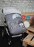 Babyline Paracaidista - Saco polar para silla de paseo, color gris