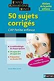 Image de 50 SUJETS CORR CAP PETITE ENFA