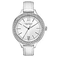 Caravelle New York - Reloj analógico de cuarzo para mujeres