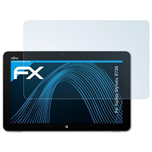 atFolix Schutzfolie kompatibel mit Fujitsu Stylistic R726 Folie, ultraklare FX Bildschirmschutzfolie (2X)
