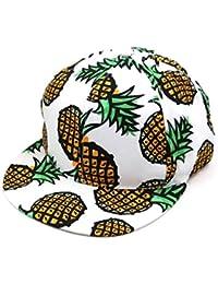 Amlaiworld Ananas Snapback Bboy Hut verstellbare Baseball Cap Hip-hop Hut Unisex