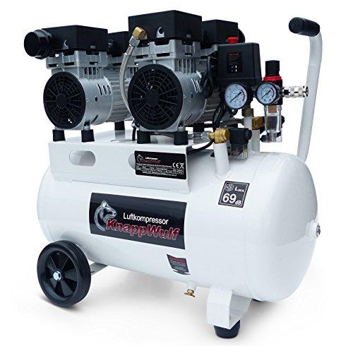 KnappWulf, compressore silenzioso, da 8 bar, modello KW2050, compressore d'aria da 69 dB
