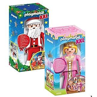 PLAYMOBIL 4896 XXL Princesa y 6629 XXL Santa Claus