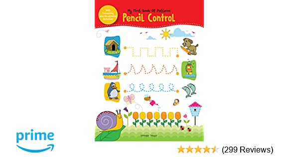 Buy My First Book of Patterns Pencil Control: Patterns