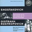 Schostakovitch: Violin Concerto op. 99 / Cello Concerto op. 107