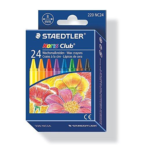 Staedtler 220 NC24 Noris Club - Ceras para colorear (24 unidades)