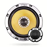 "Vibe Audio BA6 BlackAir 6 6.5"" inch 360w 360 Watts Car Door Component Speakers Set - Pair"