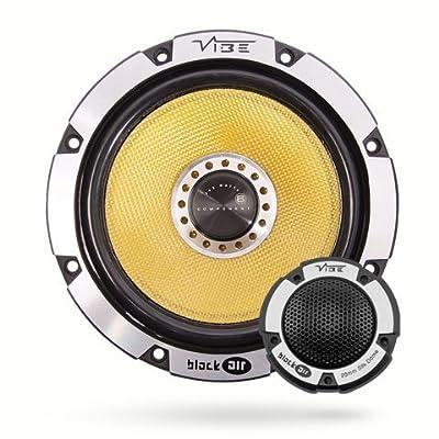 "Vibe Audio BA6 BlackAir 6 6.5"" inch 360w 360 Watts Car Door Component Speakers Set - Pair"