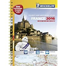 France 2016 tourist and motoring atlas - A3 spiral (Tourist & Motoring Atlases) by Michelin (2015-11-16)