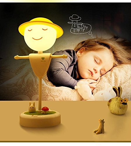 Shop online Scarecrow Charger Night Light / Creative Stereo Lampe Touch Bett Bedside Traum Baby