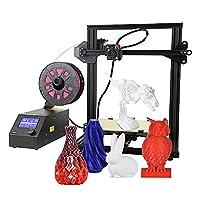 Creality CR-10 Mini DIY 3D Printer Aibecy Semi Assembled Printing Size 300 * 220 * 300mm Aluminum Alloy Frame UK Plug with PLA Filament 200g