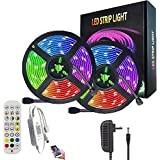 AnneFish LED Strip Light, 10M Smart RGB Rope Lighting, Color Changing APP Remote Control Tape Light, Home Decoration Music Sy
