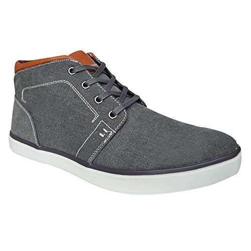 Xelay , Chaussons montants homme Gris