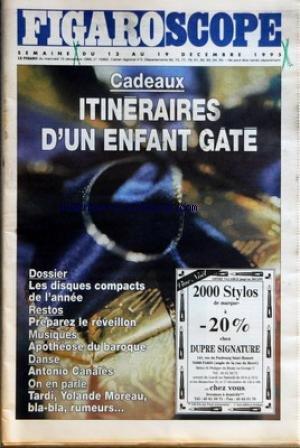 figaro-scope-no-15962-du-13-12-1995-itineraires-dun-enfant-gate-les-disques-compacts-de-lannee-resta