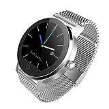 Blue-Yan Smartwatch, Herzfrequenz-Armband, tragbar, Schrittzähler mit Touchscreen und Schlaf-Monitor, Uhr mit Musik-Fernsteuerung für Android und iOS Nr. 4