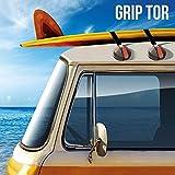 Genérico - Ventosas para techos de coches grip tor (pack de 2)