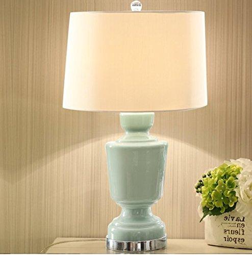 Europäisches Glas Lampe Zimmer American Bett Lampe kreativ modern Fashion Living Zimmer studieren chinesische Lampe -