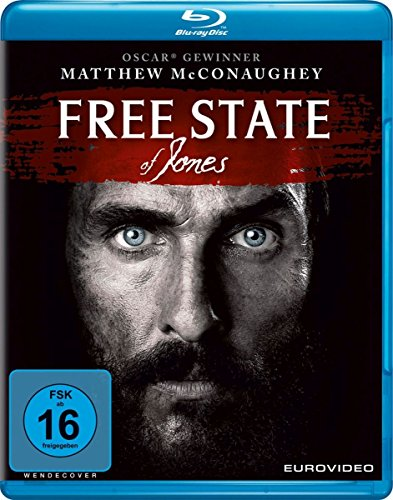 Free State of Jones [Blu-ray] Western-filme