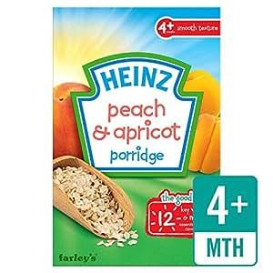 Heinz Breakfast Peach & abricot céréales 4 MOIS + 125g