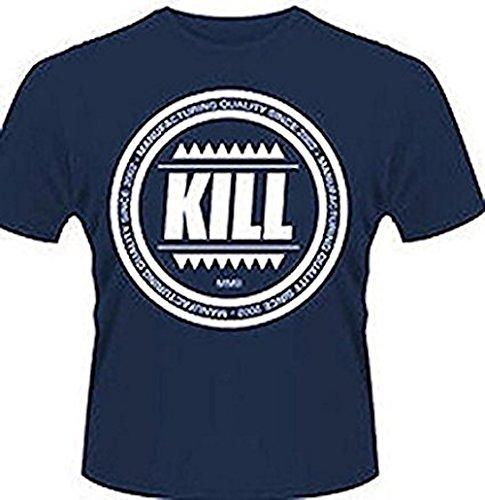 Kill Brand - Swag Logo Circle - T-shirt Ufficiale Uomo - Nero 903ea9f16f49