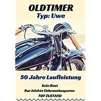 Karte zum 50 Geburtstag für den Mann - Motiv: Chopper. Jahrgang 1968 | Personalisierbares Geschenk für Männer, auch zum 60. oder 70. Lebensjahr