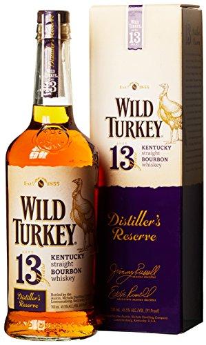 Wild Turkey 13 Years Old Distiller's Reserve mit Geschenkverpackung Whisky (1 x...