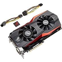 Asus VGA MATRIX-GTX780TI-P-3GD5 NVIDIA Grafikkarte (PCI-e, 3GB, GDDR5 Speicher, VGA 1, GPU)