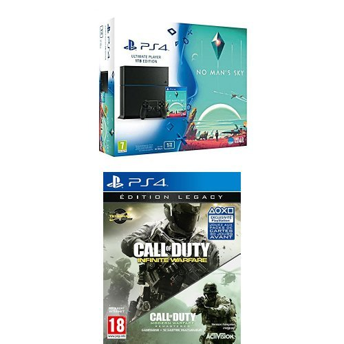 Pack PS4 1To + No Man's Sky + Call of Duty : Infinite Warfare – édition Legacy