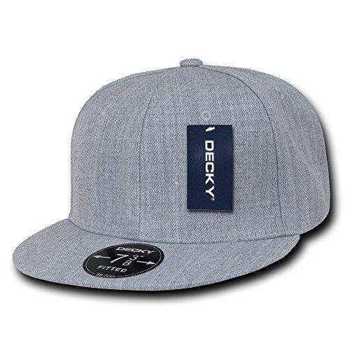Decky Retro Fitted Caps Head Wear, Herren, grau meliert, 140 Preisvergleich