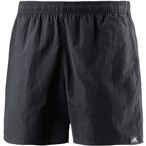 adidas Herren Solid Short Length Badeshorts, Black, L Preisvergleich