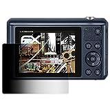 atFoliX Blickschutzfilter für Samsung WB35F Blickschutzfolie - FX-Undercover 4-Wege Sichtschutz Displayschutzfolie