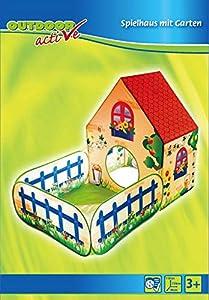 VEDES Großhandel GmbH - Ware Outdoor Active Pop-Up Casa de Juguete con Pelotas baño, (sin Pelotas)
