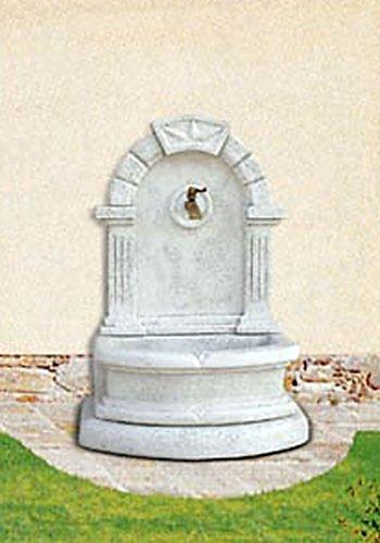 pompidu-living Wandbrunnen GIBILT H 112 Farbe Terracotta
