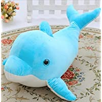 Lindo Juguete Suave Dolphin Soft Toys 35cm Plush Pillow Stuffed Toy Gift Decoración del hogar (Azul) - Peluches y Puzzles precios baratos