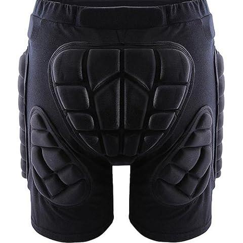 MaMaison007Pantaloncini protettivi imbottiti sci pattinaggio pantaloncini di protezione -L