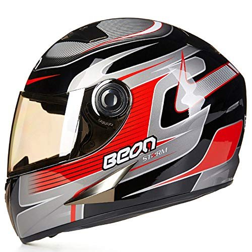 Aemax, casco da moto, cruiser, casco da city scooter, casco da motociclista sportivo certificazione ece, m-xl,h-l=57-58cm