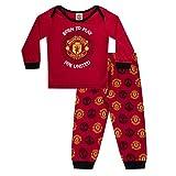 Manchester United FC Officiel - Pyjama thème Football - garçon/Enfant/bébé - 6-9 Mois...