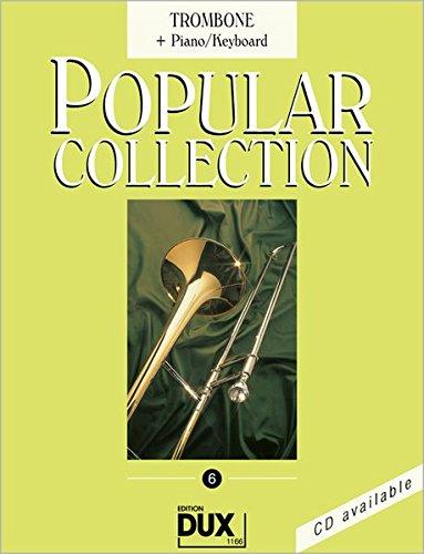 Popular Collection 6: Trombone + Piano/Keyboard