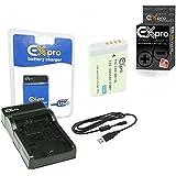 Ex-Pro Nikon en-el24, enel24–1500mAh Haute Puissance nominale Plus + Batterie au lithium li-ion Batterie pour Appareil Photo Numérique Nikon 1J5