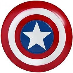 Hill Interiors Escudo de Capitán América (Talla Única/Blanco/Rojo/Azul)