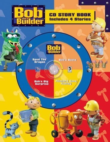 Bob The Builder Cd Story Book 4-In-1 (Bob the Builder CD Story Book 4-in-1 Audio CD Read-Along) by Penton Overseas, Inc. (2004) Hardcover