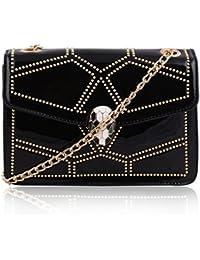 Suaveness Black Color Sling Bag For Women