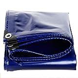 Telone Tarpaulin Gardinen für die Schwangerschaft, 550 g / m2, wasserabweisend, mehrschichtig, Verschiedene Größen, 0,45 mm, 0,45 mm 2X 2m blau