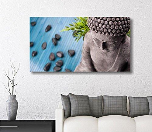 Buda Zen 2 – cuadro moderno sobre lienzo ConKrea 90 x 45 cm cuadros ...