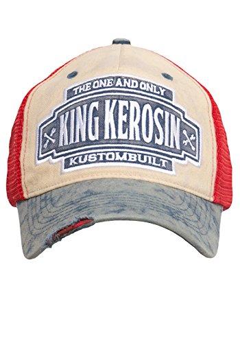KING KEROSIN Trucker Cap im Vintage-Look Herren 280020 Mesh-cap Vintage