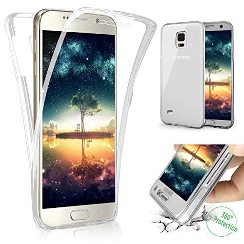 Kompatibel mit Samsung Galaxy S4 Hülle,Full Body