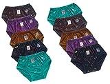 D.K Girls Panties (Pack Of 10) (D.K_213_...