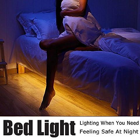 Bewegung aktiviert Bett Licht, Vansky® flexible LED-Streifen