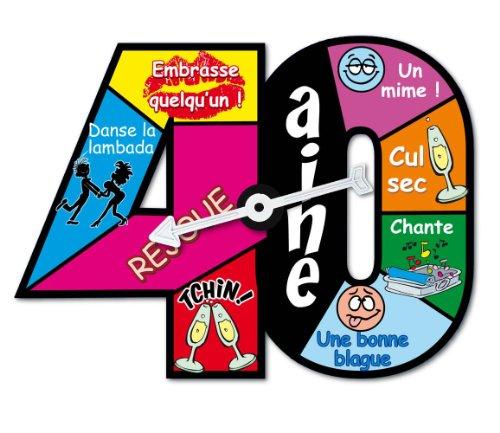Roulette jeu d'anniversaire 40 ans 3700276288658