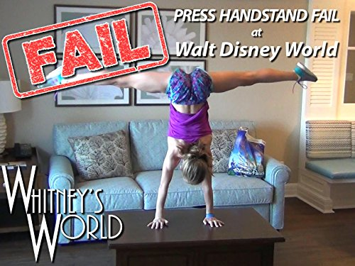 Press Handstand Fail at Disney World